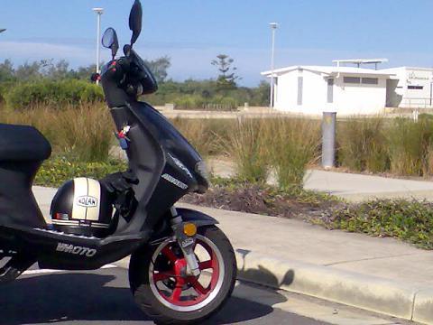 scooter at salt